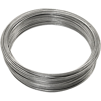 Steel Galvanized Wire - 16 gauge, 200 ft.
