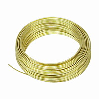 Brass Hobby Wire - 20 Gauge, 50 ft.