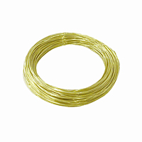 Brass Hobby Wire - 28 Gauge, 75 ft.