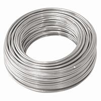 Aluminum Hobby Wire - 18 Gauge, 50 ft.