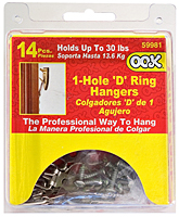 OOK® 1 Hole D Ring Value Box (59981)