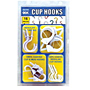 Assorted White Cup Hook Kit - White